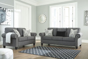 Ashley Agleno Charcoal Sofa/Couch & Loveseat