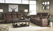 Ashley Jesolo Coffee Reclining Sofa/Couch & Reclining Loveseat
