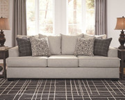 Ashley Velletri Pewter Sofa/Couch
