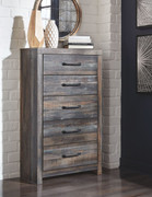 Ashley Drystan Multi Five Drawer Chest