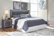 Ashley Lodanna Gray King/Cal King Upholstered Panel HDBD