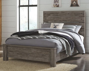 Ashley Cazenfeld Black/Gray Full Panel Bed