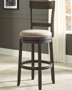 Ashley Drewing Brown Tall UPH Swivel Barstool