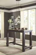 Ashley Drewing Brown Rectangular Bar Table