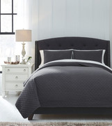 Ashley Ryter Charcoal Queen Coverlet Set