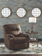 Ashley Bolzano Coffee Rocker Recliner