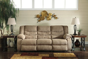 Ashley Tulen Mocha Reclining Sofa/Couch