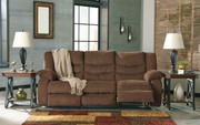 Ashley Tulen Chocolate Reclining Sofa/Couch