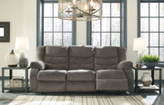 Ashley Tulen Gray Reclining Sofa/Couch