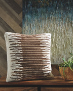 Ashley Wycombe Cream/Brown Pillow