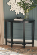 Ashley Altonwood Black Console Sofa/Couch Table