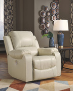 Ashley Rackingburg Cream Rocker Recliner