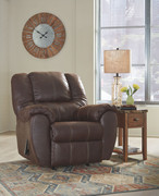 Ashley McGann Walnut Rocker Recliner