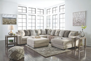 Ashley  Ardsley Pewter LAF Sofa/Couch/Couch, Wedge, Armless Loveseat, RAF Corner Chaise Sectional & Accent Ottoman
