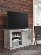 Ashley Carynhurst Whitewash Medium TV Stand