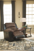 Ashley Earhart Chestnut Rocker Recliner