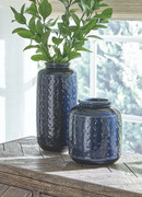 Ashley Marenda Navy Blue Vase Set (2/CN)