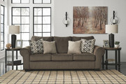 Ashley Nesso Walnut Sofa/Couch