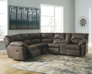 Ashley Tambo Canyon LAF/RAF Reclining Loveseat Sectional