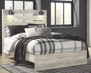 Ashley Cambeck Whitewash Queen Panel Bed