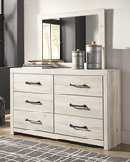 Ashley Cambeck Whitewash Dresser & Mirror