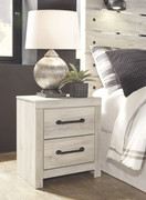 Ashley Cambeck Whitewash Two Drawer Night Stand
