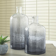 Ashley Maleah Navy Vase Set