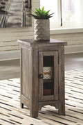Ashley Danell Ridge Brown Chair Side End Table