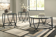 Ashley Tarrin Black Occasional Table Set (3/CN)