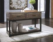 Ashley Johurst Grayish Brown Sofa/Couch Table