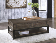 Ashley Johurst Grayish Brown Rect Lift Top Cocktail Table
