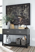 Ashley Caitbrook Gray/Black Sofa/Couch Table
