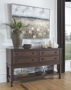 Ashley Adinton Reddish Brown Dining Room Server