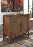 Ashley Beckings Brown Accent Cabinet