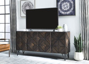Ashley Chasinfield Dark Brown Extra Large TV Stand