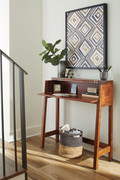 Ashley Trumore Medium Brown Console Sofa/Couch Table