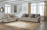 Ashley Kananwood Oatmeal Sofa/Couch & Loveseat