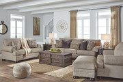 Ashley Kananwood Oatmeal Sofa/Couch, Loveseat, Chair and a Half & Ottoman