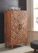 Ashley Gabinwell Two-tone Brown Accent Cabinet