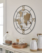 Ashley Brinly Black/Gold Finish Wall Decor