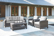 Ashley Cloverbrooke Gray Sofa/Couch/Chairs/Table Set