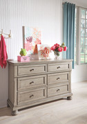 Ashley Lettner Light Gray Youth Dresser