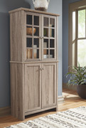 Ashley Drewmore Gray Accent Cabinet