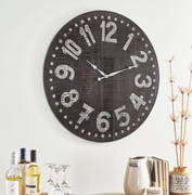 Ashley Brone Black/White Wall Clock