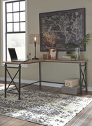 Ashley Jaeparli Grayish Brown L-Desk