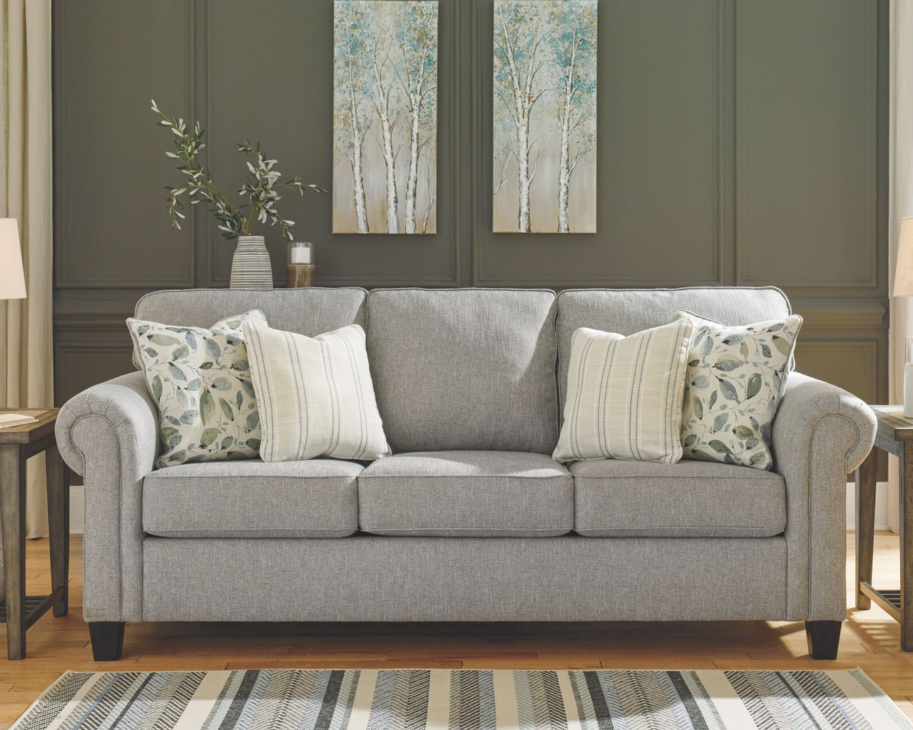 Ashley Alandari Gray Sofa/Couch by Signature Design by ...