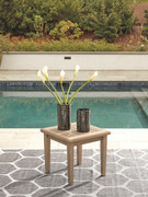 Ashley Gerianne Grayish Brown Square End Table