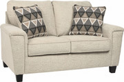 Ashley Abinger Natural Loveseat