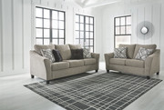 Ashley Barnesley Platinum Sofa & Loveseat