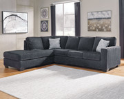 Ashley Altari Slate 2 Piece Sectional with Chaise